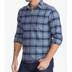 NEW UNTUCKit Sonoran Flannel Plaid Button Down